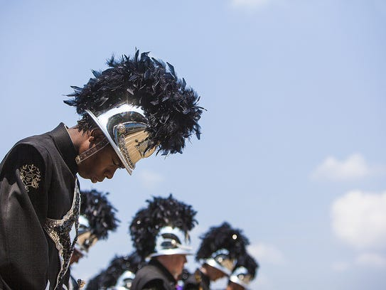 Central competes in the 2014 Indiana State Fair Band