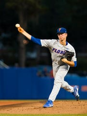 Florida ace Brady Singer is 11-1 going into the super regional against Auburn