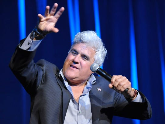 Jay Leno will appear Feb. 16 at The Sunrise Theatre,