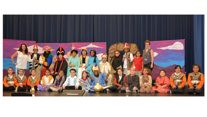 "Sabater Elementary School's Drama Club will present ""Aladdin Kids"" on June 7 and 8 at the school in Vineland."