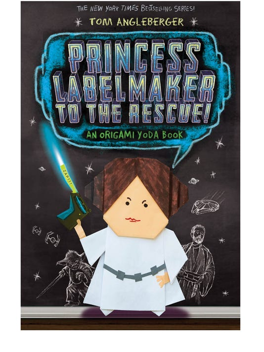 Cover Reveal Origami Yoda Returns With Princess Labelmaker