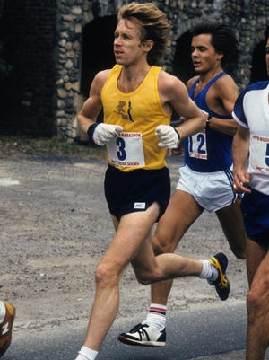 Bill Rodgers, four-time Boston Marathon winner, is returning to Phoenix for the 40th Runner's Den Pancake Run on Feb. 4. Rodgers ran in the first Runner's Den 10K on Feb. 4, 1979.