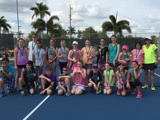 The fall tennis program at the Cape Coral Yacht Club