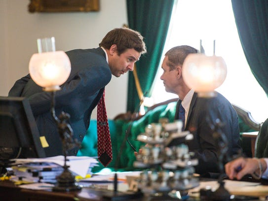 Senate President Pro Tempore Tim Ashe, D/P-Chittenden,