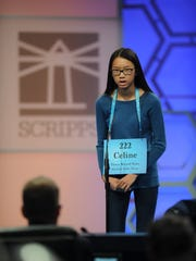 Celine Yap of Christ Academy competes in the Scripps