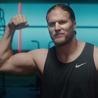 Clay Matthews puts some muscle in new jerky ads with Sasquatch