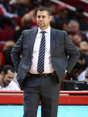 Dave Joerger visits FedExForum for the first time Friday night as coach of the Sacramento Kings. He was abruptly fired by the Grizzlies in May amid differences with the front office and ownership.
