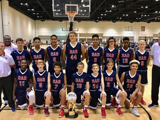 The Elite Amateur Basketball Club's Tigers 2022 squad recently won a YBOA national title in the seventh grade division.