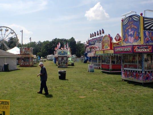 Warren county fair entertainment