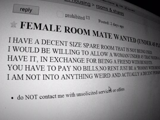 rent classifieds roomate wanted
