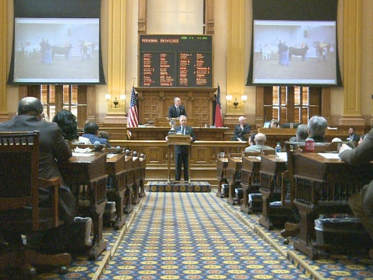 The Georgia House approved a measure to block medicaid expansion ...