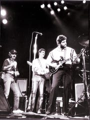 Just months after the Colts arrived from Baltimore, Irsay, then the team's vice president and general manager, played his guitar on stage at the Vogue nightclub.