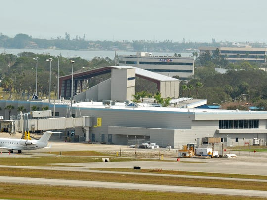 The view as seen from the new tower at Orlando Melbourne International Airport.