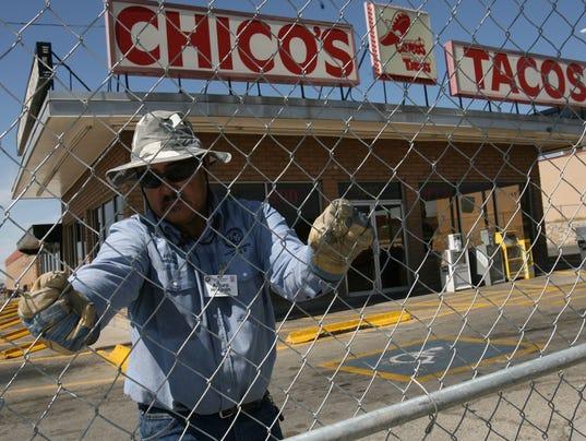 CHICO'S TACOS, MCRAE, CLOSES