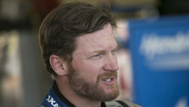 Dale Earnhardt Jr. tweeted with a NASCAR fan from Indonesia about President Trump's immigration ban.