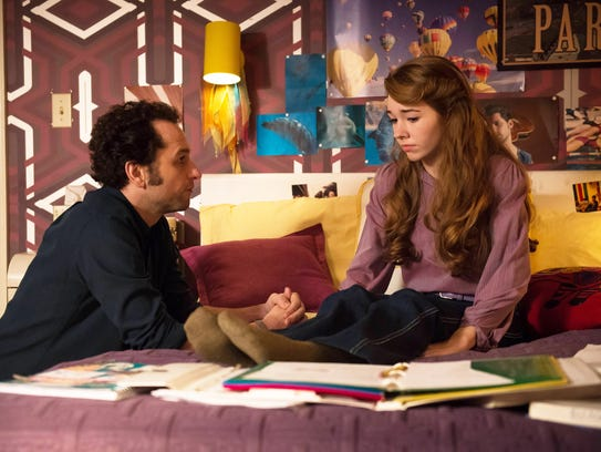 Philip Jennings (Matthew Rhys) and his daughter, Paige