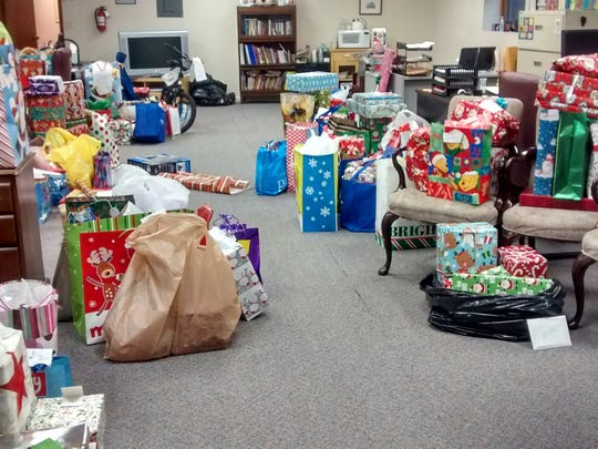 Holiday gift collected for children served by CASA