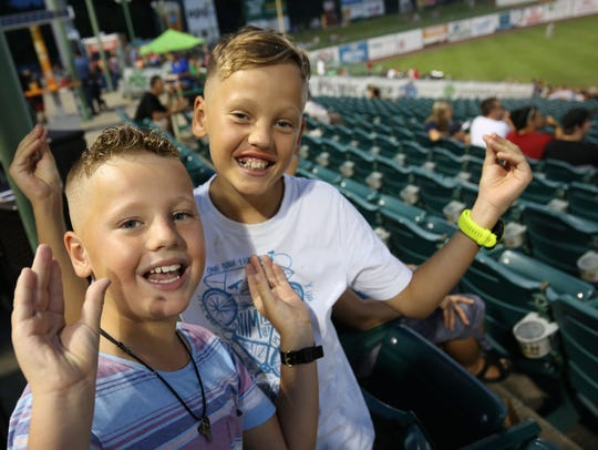 Seeing the Lakewood BlueClaws or other regional minor-league baseball teams is a popular family outing. And a few teams have home games on Mother's Day.