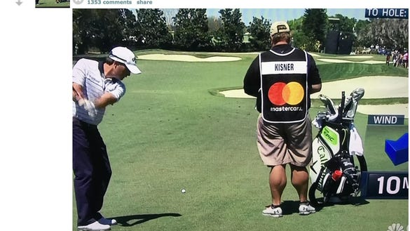 The Internet just re-discovered this PGA Tour caddie's unbelievably ripped calves