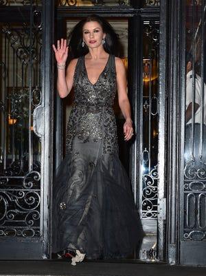 Catherine Zeta-Jones in Manhattan on Sept. 29, 2013.