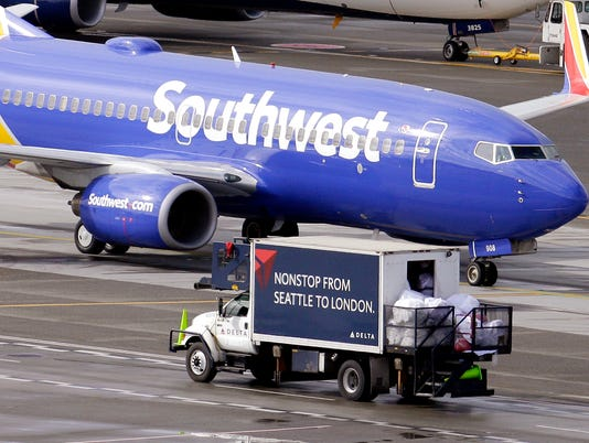 Southwest Airlines Plane Image