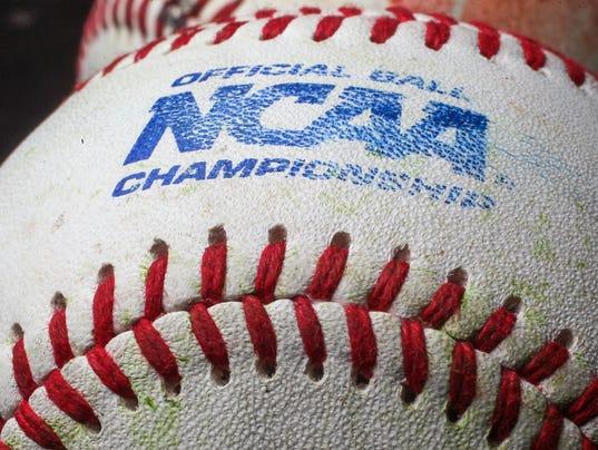 stock NCAA issued baseball