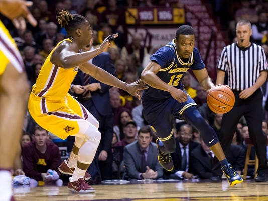 NCAA Basketball: Michigan at Minnesota