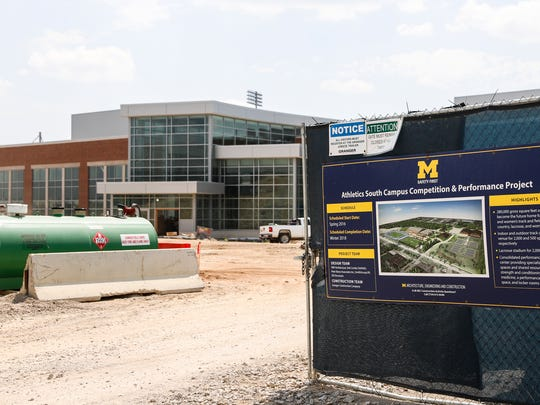 University of Michigan's Athletics South Campus Competition