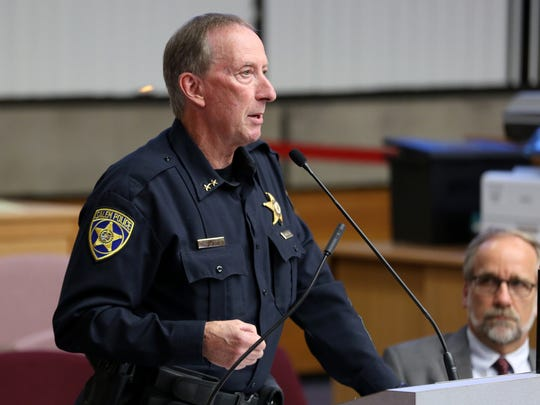 Salem Police Chief Jerry Moore will speak at Salem Police Foundation's annual Breakfast with the Chief on Feb. 20 at the Salem Convention Center.