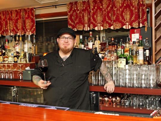 Villa at Heaven City Chef Robert Klemm takes a break from the kitchen to step behind the bar at Villa at Heaven City. Klemm closed Heaven City to work for a Delafield restaurant group.