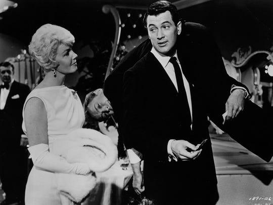 "Doris Day in ""Pillow Talk."""