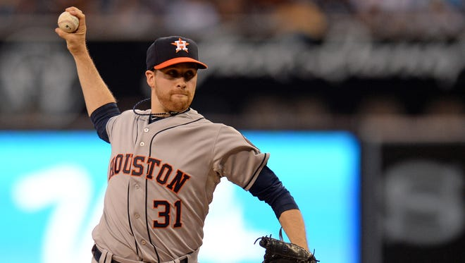 Collin McHugh has won his 11th straight decision dating to last August.