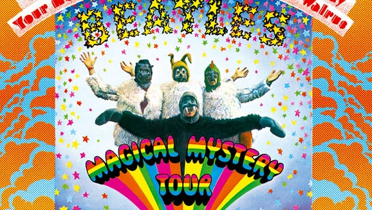 """""""Magical Mystery Tour"""" by The Beatles."""