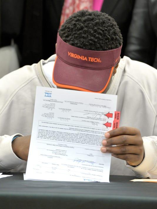 Signing Day Virginia Tech Football
