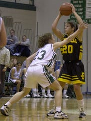 Lindsay Bowen (20) was named Class C All-State four