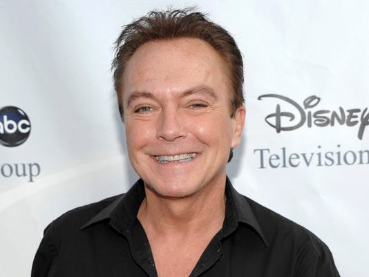 AP PEOPLE DAVID CASSIDY A FILE ENT USA CA