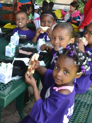 Summer food programs around the city offer kids  nutritious meals for free.