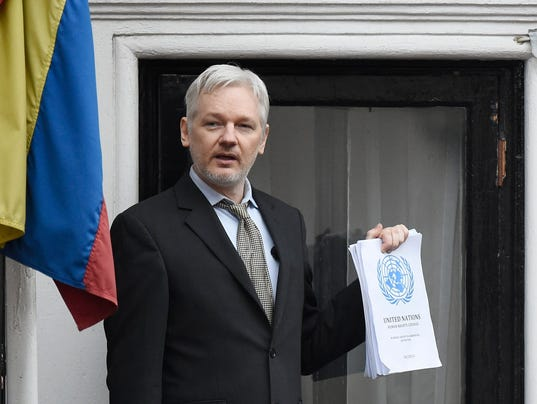 EPA (FILE) BRITAIN WIKILEAKS ASSANGE POL ESPIONAGE & INTELLIGENCE GBR