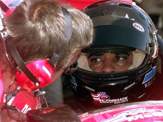 Willy T. Ribbs, Brad McCanless - qualifying round - Vegas.com 500