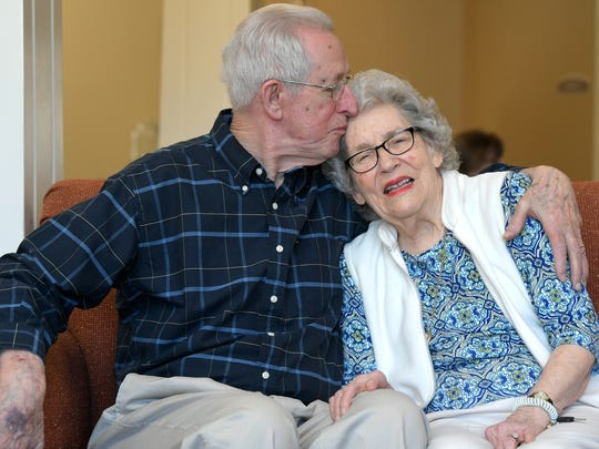 Elmo and Helen Barry have married 69 years and live