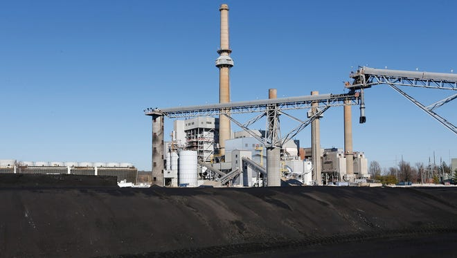 Coal remained piled outside James River Power Station in early December. City Utilities decided to stop burning coal at the plant in October, less than a month after completing a $20.7 million upgrade. The excess coal will be shipped to the John Twitty Energy Center.