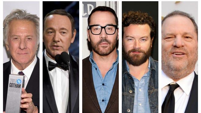 Dustin Hoffman, Kevin Spacey, Jeremy Piven, Danny Masterson, Harvey Weinstein