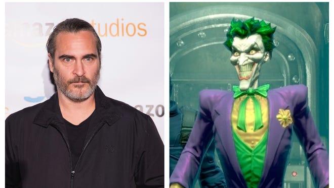 Joaquin Phoenix will take on the Joker.