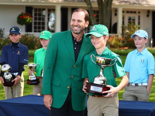 PGA: Masters Tournament - Drive Chip & Putt Championship