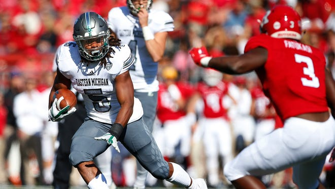 Eastern Michigan's win over Rutgers was a highlight of its 5-7 season in 2017.