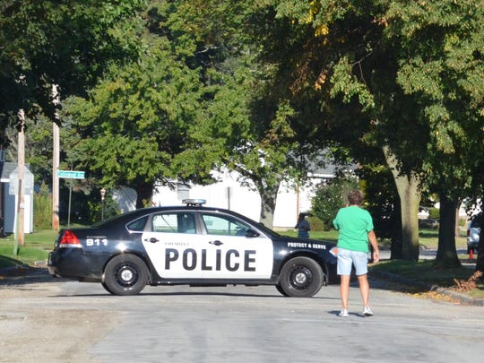 Streets leading to Croghan Elementary School were blocked off Friday morning after the school received a bomb threat.