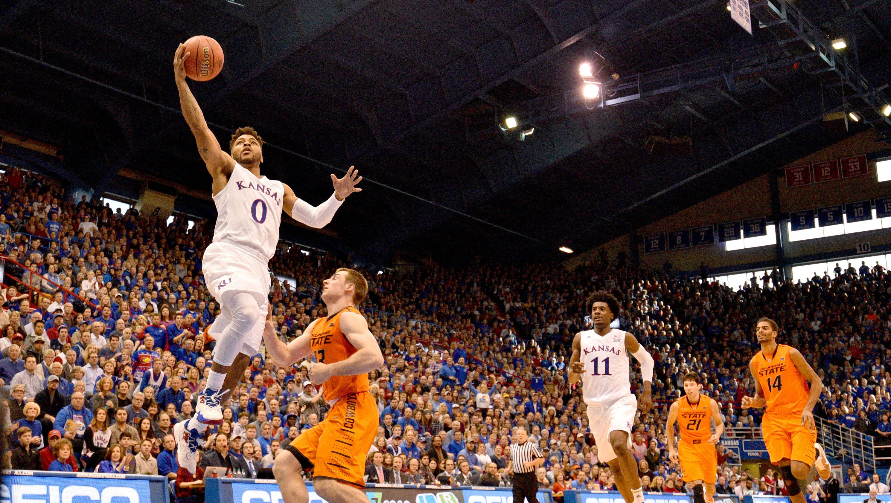 College basketball this week: New No. 1 Kansas faces a ...
