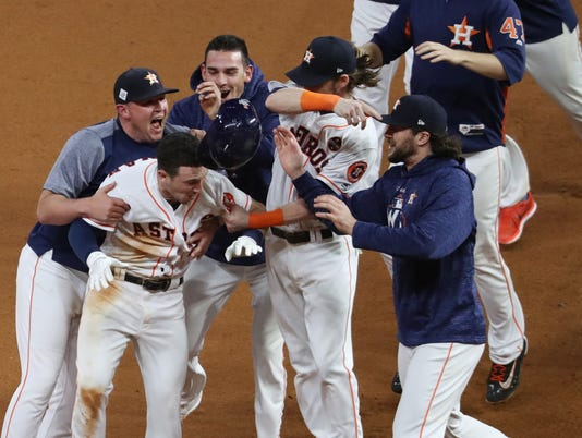 MLB: World Series-Los Angeles Dodgers at Houston Astros