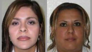 Federal officials are seeking the public's help in locating Ivonne Clarisa Ceballos Tapia and Perla Guadalupe Rubio Prado. The women are accused of injecting buttocks with a banned substance, according to the FBI.