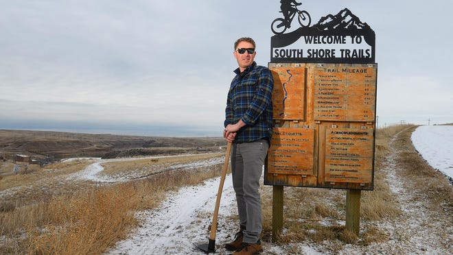 Travis Feller, who helped develop and build single-track mountain bike trails along the Missouri River and promoted Great Falls as a destination for riders, is leaving town. His departure will leave a hole in the mountain biking community.